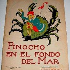 Libros antiguos: CHAPETE EN LA ISLA DE BAILE Y DE LA RISA - Nº 47 - DE LA SERIE PINOCHO Y PINOCHO CONTRA CHAPETE - CU. Lote 13661528