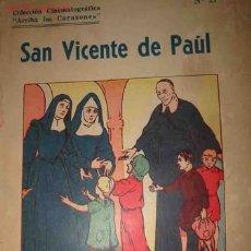 Libros antiguos: SAN VICENTE DE PAÚL. 1942 ED. SANTA CATALINA. ILUSTRACIONES DE FERNANDO FERNAND. Lote 2884914