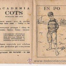 Libros antiguos: 0068 CUENTO INFANTIL COLECCIÓN PATUFET, ILUSTRADO POR OPISSO (5). Lote 19211258
