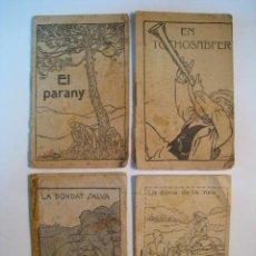 Libros antiguos: LOTE 4 CUENTO COLECCION LA CASA DEL PATUFET. Lote 9793474