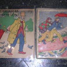 Libros antiguos: CUENTO + PUZZLE - EL PARAGUAS GENEROSO , ILUSTRADO POR XIRINIUS, EDT, MUNTAÑOLA 1933 ( RARO ). Lote 9884788