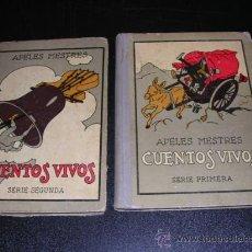 Libros antiguos: APELES MESTRES - CUENTOS VIVOS - 1 Y 2 SERIE ( COMPLETA ) - MUY ILUSTRADO, 1929. Lote 10075827