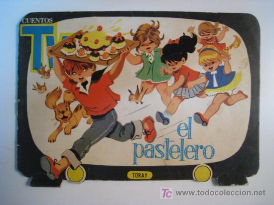 CUENTO TROQUELADO EL PASTELERO (M. PASCUAL) 1961 (Libros Antiguos, Raros y Curiosos - Literatura Infantil y Juvenil - Cuentos)