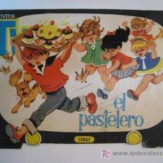 Libros antiguos: CUENTO TROQUELADO EL PASTELERO (M. PASCUAL) 1961. Lote 10208209