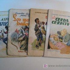 Libros antiguos: LOTE 4 NUMS CUENTOS ILUSTRADOS NIÑOS RAMON SOPENA. Lote 10257655