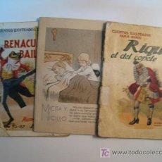 Libros antiguos: LOTE 3 NUMS CUENTOS ILUSTRADOS PARA NIÑOS RAMON SOPENA. Lote 10257680