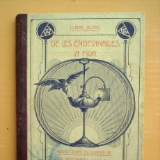 Libros antiguos: DE LES ENDEVINALLES -LA FLOR 1917--IMPRENTA-ARNAU-ORS I BARTRES. Lote 26473924