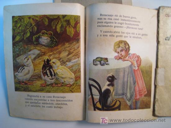 Libros antiguos: LOTE 3 NUMS CUENTOS ILUSTRADOS PARA NIÑOS RAMON SOPENA - Foto 2 - 10257680
