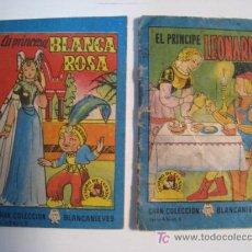Libros antiguos: LOTE 2 MINI CUENTOS COLECCION BLANCANIEVES (BRUGUERA). Lote 10382234