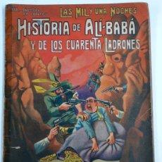 Libros antiguos: HISTORIA DE ALI-BABA. RAMÓN SOPENA ED. ALGO ESTROPEADO, CON CINTA ADHESIVA EN EL LOMO.. Lote 15447470