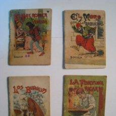 Libros antiguos: LOTE 4 CUENTOS ORIGINALES EDITORIAL SATURNINO CALLEJA. Lote 10624301