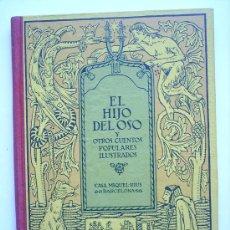 Livres anciens: EL HIJO DEL OSO Y OTROS CUENTOS POPULARES ILUSTRADOS POR JOAN VILA -CASA MIQUEL RIUS -BARCELONA. Lote 21792644