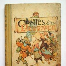 Alte Bücher - CONTES D'EN PERRAULT-ILUS. APELES MESTRES-1907-BIBLIOTECA JUVENTUT - 27449244