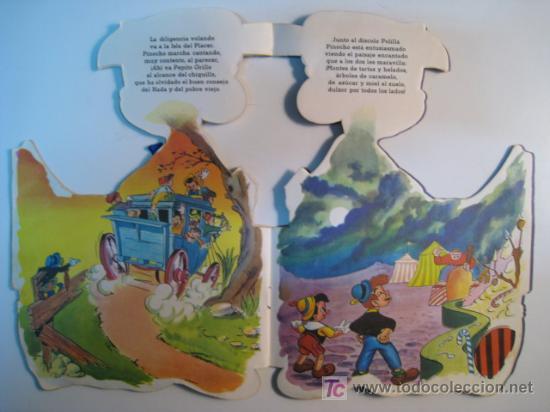 Libros antiguos: CUENTO TROQUELADO PINOCHO; WALT DISNEY; EDIGRAF 1968 - Foto 2 - 10662398