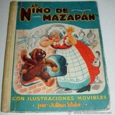 Libros antiguos: ANTIGUO CUENTO ANIMADO CON ILUSTRACIONES MOVIBLES EL NIÑO DE MAZAPAN - POR JULIAN WEHR - 1947 - CUEN. Lote 24951081