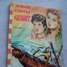 Libros antiguos: COLECCIÓN FELICIDAD, Nº. 11, LOS HIJOS DEL CAPITÁN GRAN-JULIO VERNE-1965-EDT: FELICIDAD. Lote 19626943