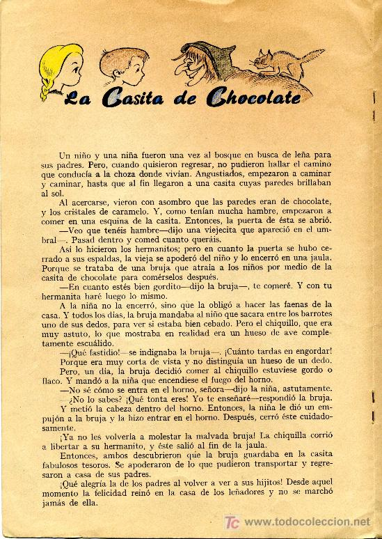 Libros antiguos: ANTIGUO CUENTO - 6 CUENTOS FAMOSOS - COLECCIÓN PRIMEROS PASOS - FHER - Foto 3 - 14070436