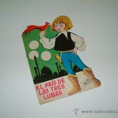Libros antiguos: EL PAÍS DE LAS TRES LUNAS. CUENTO TROQUELADO. TORAY 1964. ILUSTR: MARIA PASCUAL. Lote 12046055