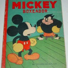 Libros antiguos: ANTIGUO CUENTO - MICKEY BOXEADOR - ED. SATURNINO CALLEJA S.A. - 1935 - BY WALT DISNEY, K.F.S. OPERA . Lote 26329194