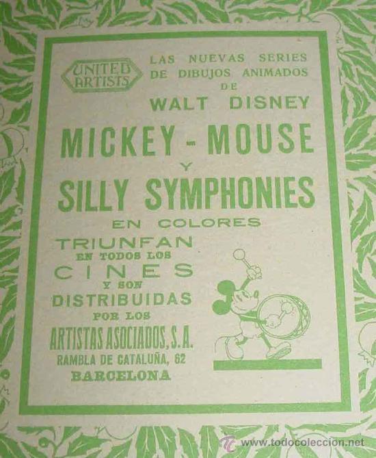 Libros antiguos: ANTIGUO CUENTO - MICKEY BOXEADOR - ED. SATURNINO CALLEJA S.A. - 1935 - BY WALT DISNEY, K.F.S. OPERA - Foto 2 - 26329194