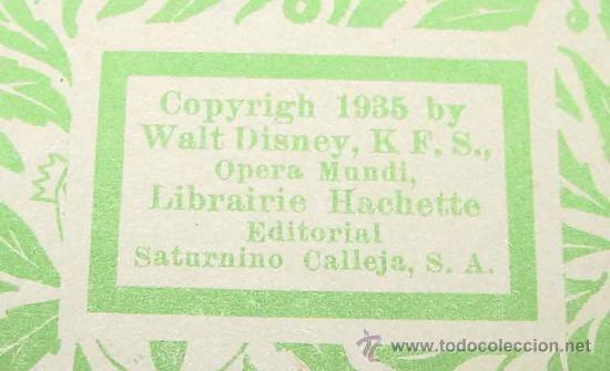 Libros antiguos: ANTIGUO CUENTO - MICKEY BOXEADOR - ED. SATURNINO CALLEJA S.A. - 1935 - BY WALT DISNEY, K.F.S. OPERA - Foto 3 - 26329194