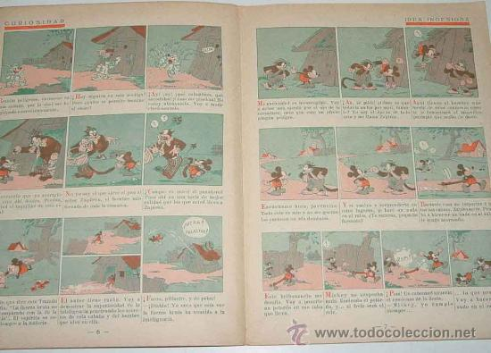 Libros antiguos: ANTIGUO CUENTO - MICKEY BOXEADOR - ED. SATURNINO CALLEJA S.A. - 1935 - BY WALT DISNEY, K.F.S. OPERA - Foto 4 - 26329194