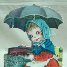 Libros antiguos: MARIUCA LA CASTAÑERA, CUENTO TROQUELADO, JUAN FERRANDIZ, VILCAR 1952 RARO. Lote 21889543