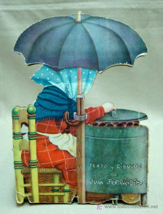 Libros antiguos: MARIUCA LA CASTAÑERA, CUENTO TROQUELADO, JUAN FERRANDIZ, VILCAR 1952 RARO - Foto 2 - 21889543
