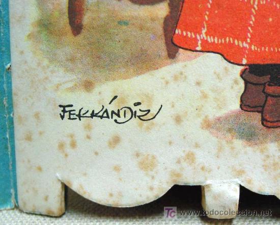 Libros antiguos: MARIUCA LA CASTAÑERA, CUENTO TROQUELADO, JUAN FERRANDIZ, VILCAR 1952 RARO - Foto 5 - 21889543