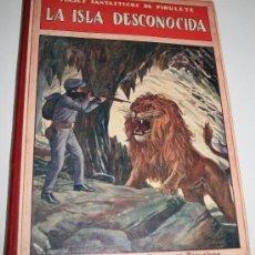 Libros antiguos: VIAJES FANTÁSTICOS DE PIRULETE, LA ISLA DESCONOCIDA - FEDERICO TRUJILLO - ED. SOPENA - 1922. Lote 25295672