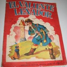 Libros antiguos: EL VALIENTE LEÑADOR - GRANDES ALBUMES INFANTILES Nº 23 - SIGMAR - 1950. Lote 11659544