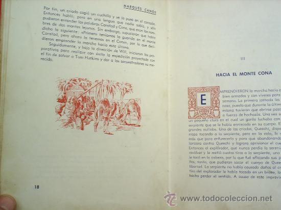 Libros antiguos: will hatkins -el esplorador-1945-editorial araluce-coleccion un niño escribe para los niños - Foto 4 - 11946912