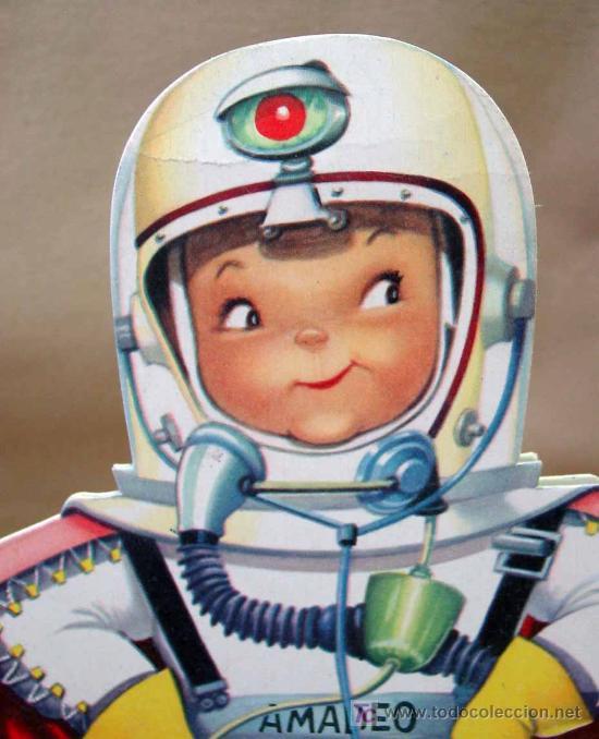 AMADEO ASTRONAUTA TROQUELADO JUAN FERRANDIZ VILCAR 1962 (Libros Antiguos, Raros y Curiosos - Literatura Infantil y Juvenil - Cuentos)