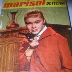 Libros antiguos: MARISOL DETECTIVE , COLECCION FRANJA AMARILLA DE FELICIDAD Nº 6 , 1963. Lote 23419690