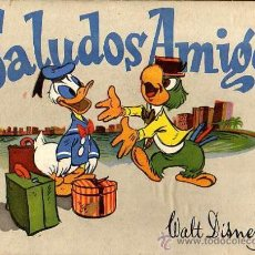 Libros antiguos: MUY CUENTO DE WALT DISNEY -SALUDOS AMIGOS-CPRG-1944-EDITOR JOSE MARIA RIEUSETT. Lote 18632860