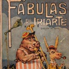 Libros antiguos: MAGNIFICO LIBRO DE LAS FABULAS DE IRIARTE DIBUJADO POR ASHA EDITORIAL ARALUCE VER PAGINA INTERIOR. Lote 12213415