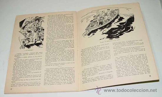 Libros antiguos: ANTIGUO CUENTO POP UP BOOKS - EL BARCO PIRATA - CUENTO DESPLEGABLE – página central desplegable – Ed - Foto 4 - 27329304
