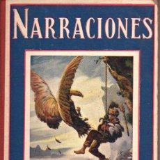 Libros antiguos: COLECCIÓN BIBLIOTECA PARA NIÑOS, NARRACIONES, POR S. H. HAMER. Lote 12884717