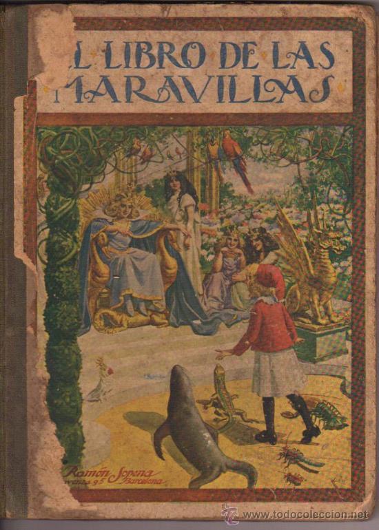 COLECCIÓN BIBLIOTECA PARA NIÑOS, EL LIBRO DE LAS MARAVILLAS (Libros Antiguos, Raros y Curiosos - Literatura Infantil y Juvenil - Cuentos)