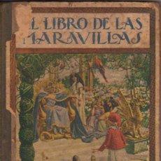 Libros antiguos: COLECCIÓN BIBLIOTECA PARA NIÑOS, EL LIBRO DE LAS MARAVILLAS. Lote 12885505