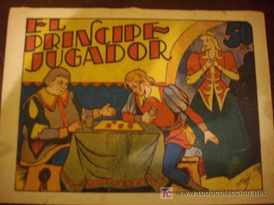 EL PRINCIPE JUGADOR EDITORIAL MARCO (Libros Antiguos, Raros y Curiosos - Literatura Infantil y Juvenil - Cuentos)