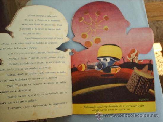 Libros antiguos: CUENTO TROQUELADO-TANKITO un cuento para niños -- ROMERO - Foto 3 - 22439055