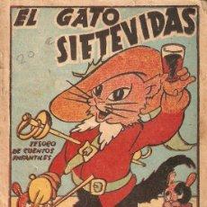 Libros antiguos: EL GATO SIETEVIDAS. Lote 13177111