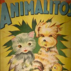 Libros antiguos: ANIMALITOS / RODOLFO DAN. BS AS : SIGMAR, 1945. 31X25CM. 10 P.. Lote 16956608