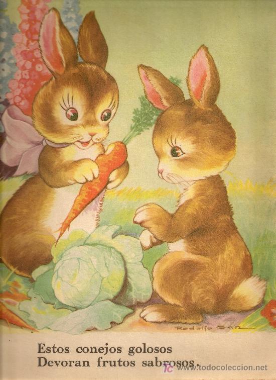 Libros antiguos: Animalitos / Rodolfo Dan. Bs As : Sigmar, 1945. 31x25cm. 10 p. - Foto 2 - 16956608