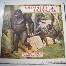 Libros antiguos: EL REINO ANIMAL PARA NIÑOS: ANIMALES SALVAJES 4 - RAMON SOPENA. Lote 13747347