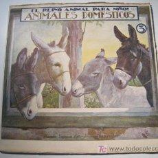 Libros antiguos: EL REINO ANIMAL PARA NIÑOS: ANIMALES DOMESTICOS 3 - RAMON SOPENA. Lote 13747368