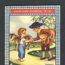 Libros antiguos: CUENTO INFANTIL JUAN EL LISTO ILUSTRADO POR FERRANDIZ (COLECCION PULGUITA NUM.37). Lote 13801532