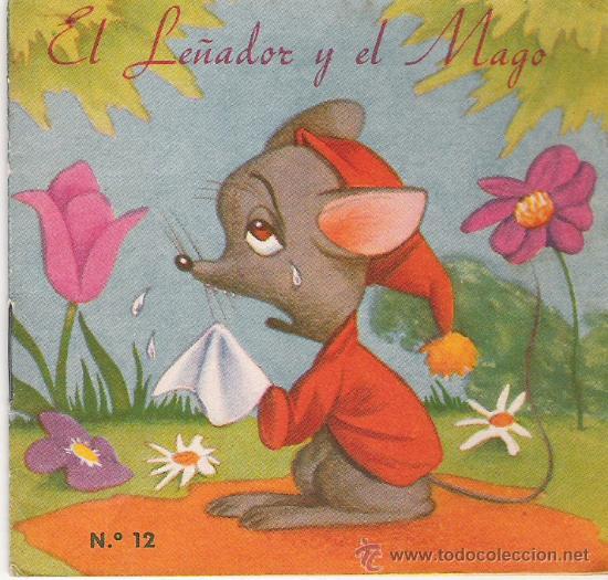 CUENTO-COLECCION F - Nº 12 - EL LEÑADOR Y EL MAGO - EDITORIAL FHER (Libros Antiguos, Raros y Curiosos - Literatura Infantil y Juvenil - Cuentos)