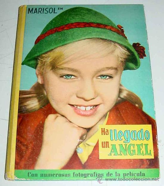 ANTIGUO LIBRO DE MARISOL EN HA LLEGADO UN ANGEL - JOSEFA FLORES GONZÁLEZ - CON NUMEROSAS FOTOGRAFIAS (Libros Antiguos, Raros y Curiosos - Literatura Infantil y Juvenil - Cuentos)